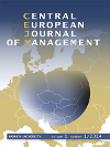 Titulní strana časopisu Central European Journal of Management